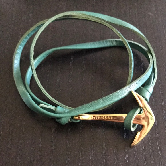 Miansai leather straps bracelet.